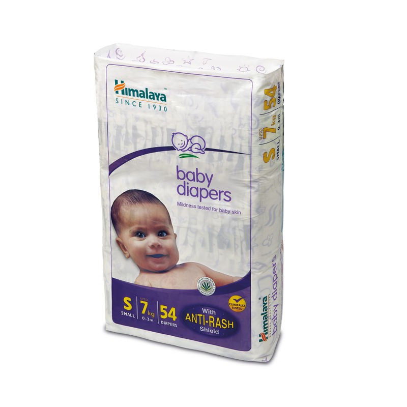4033c9f0ea Buy Himalaya Baby Care Baby Diapers Small - 54 Diapers at nykaa.com