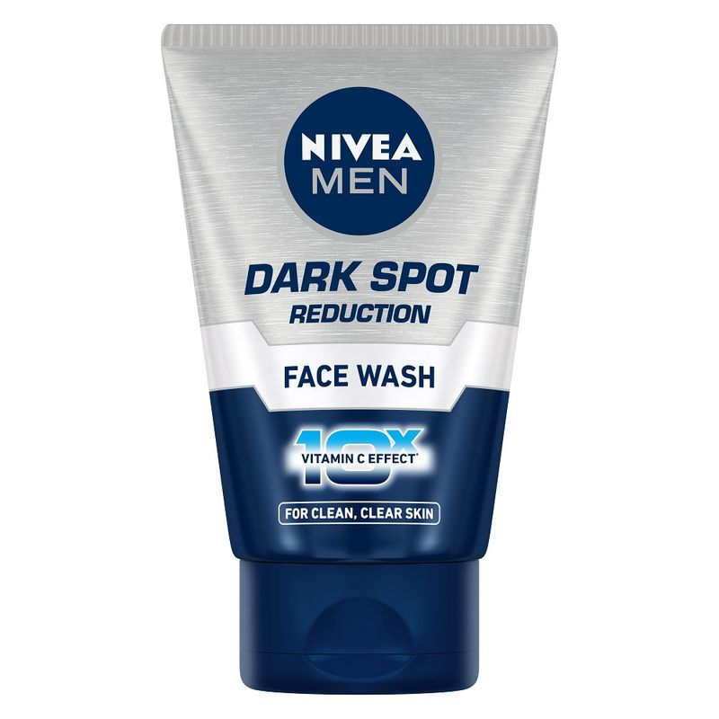 NIVEA Men Face Wash, Dark Spot Reduction, for Clean   Clear Skin with 10x Vitamin C Effect