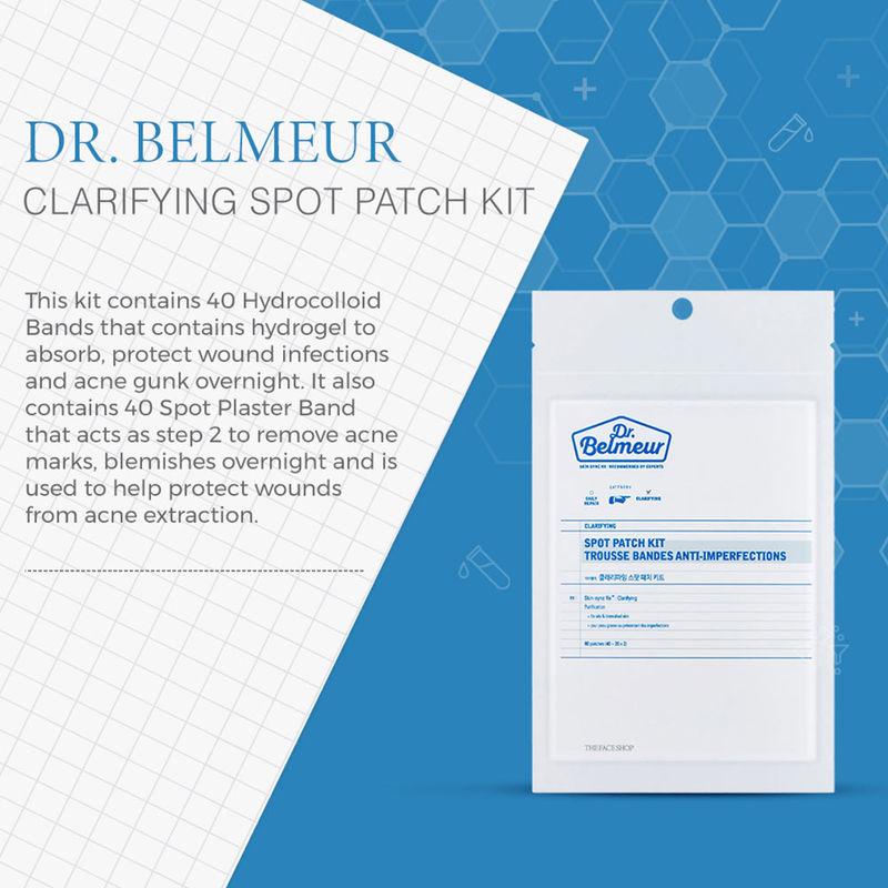 The Face Shop Dr Belmeur Clarifying Spot Patch Kit