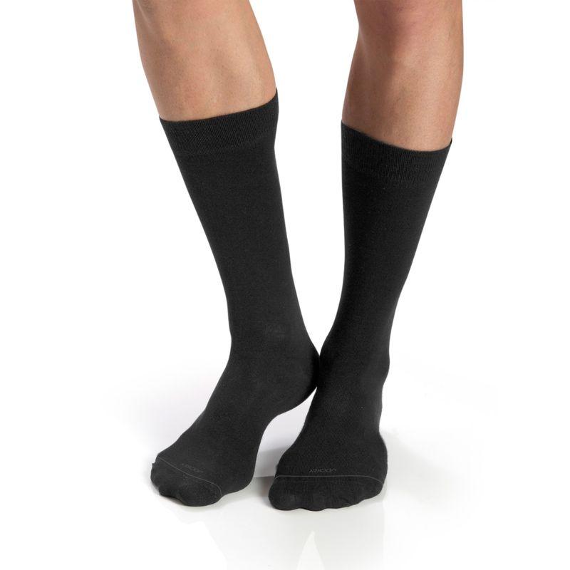 Jockey Man Gunmetal Men Formal Socks