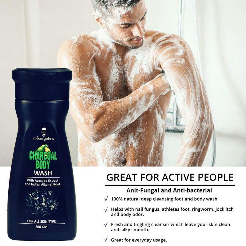 UrbanGabru Charcoal Body Wash