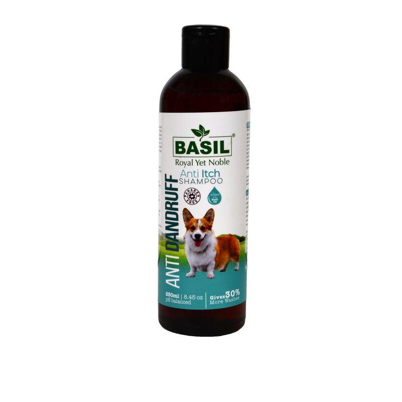 BASIL Anti Dandruff Anti-Itch Shampoo for Dogs