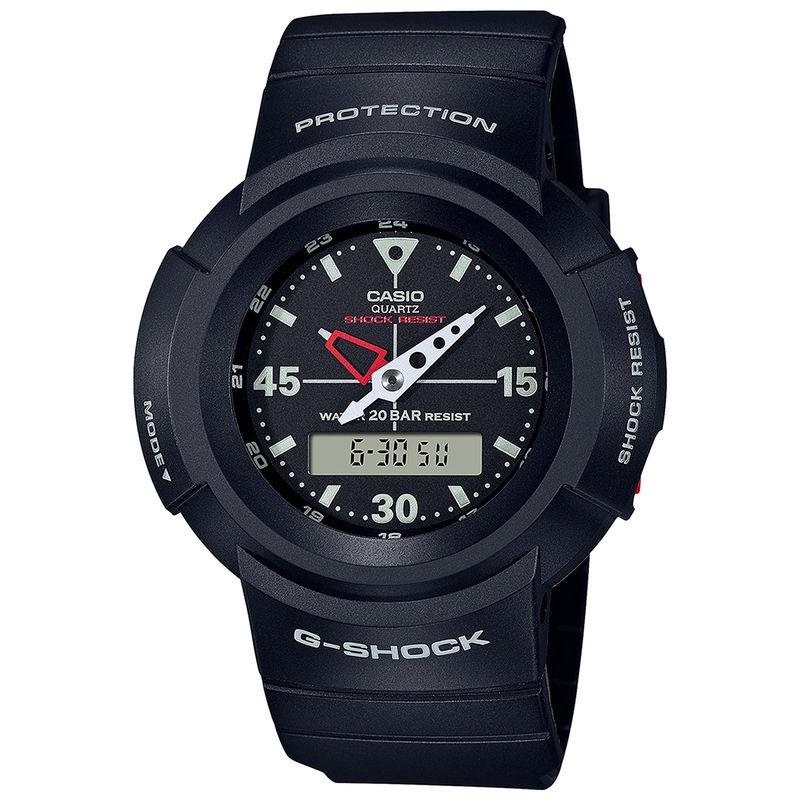 Casio G1079 G Shock Revival Series   AW 500E 1EDR   Analog Digital Watch   For Men