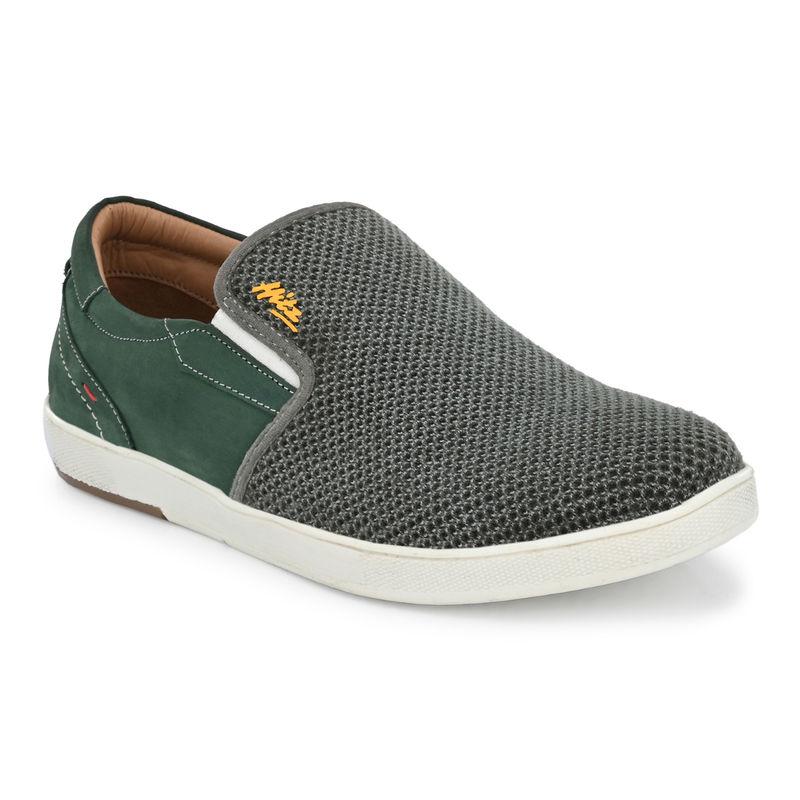 Hitz Green Casual Shoes - Uk 6