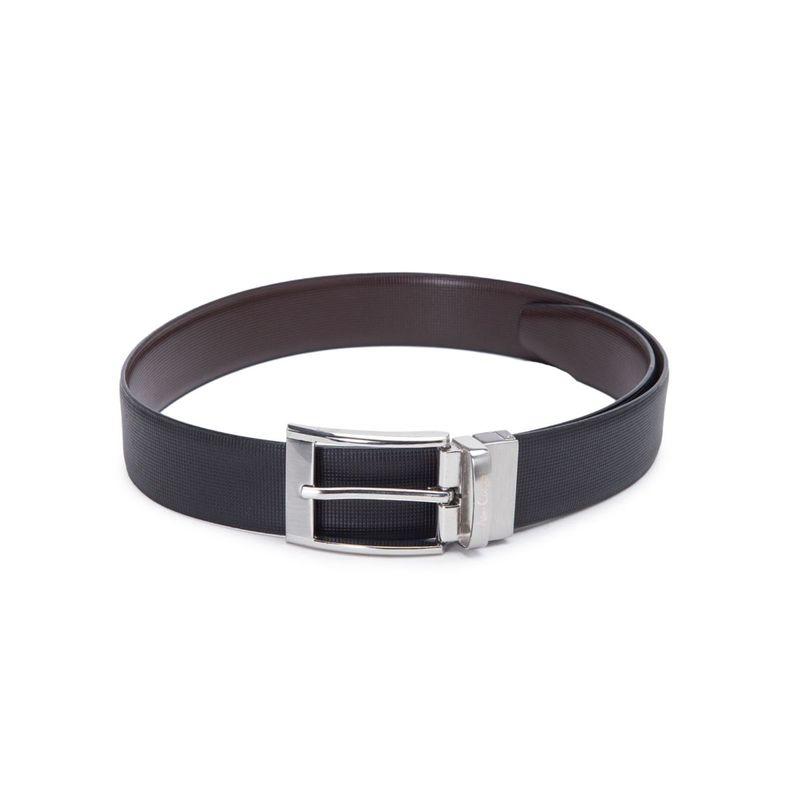 Allen Cooper Black Leather Belts For Men (30)