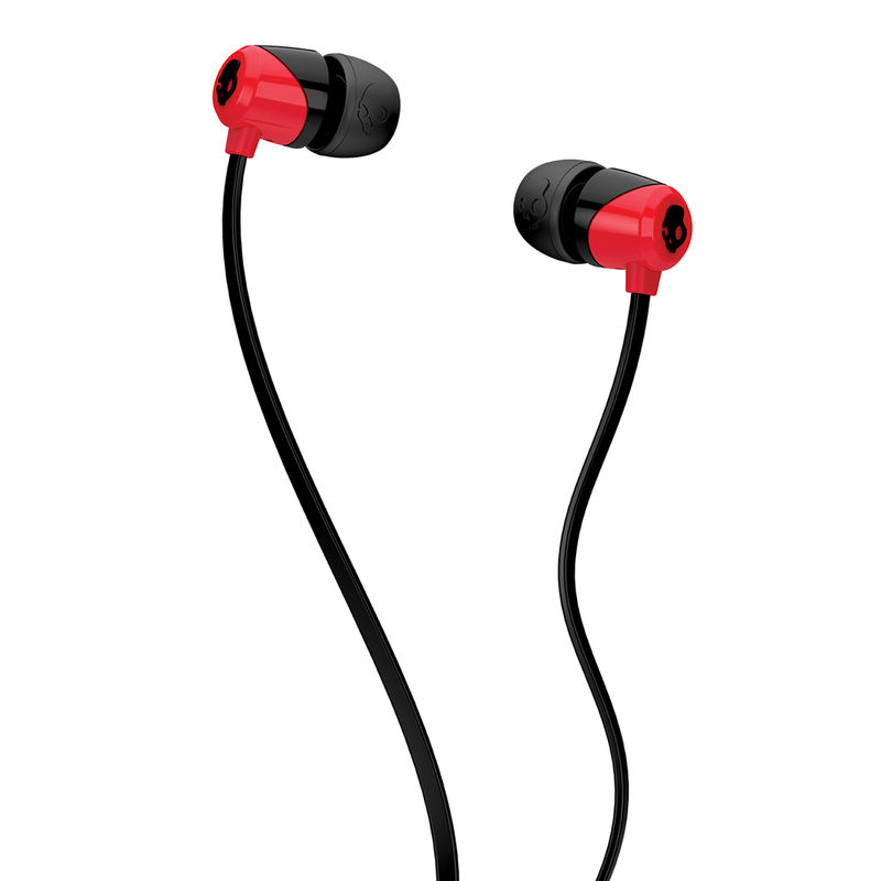 Skullcandy S2DUHZ 335 Jib Wired In Earphone  Red/Black