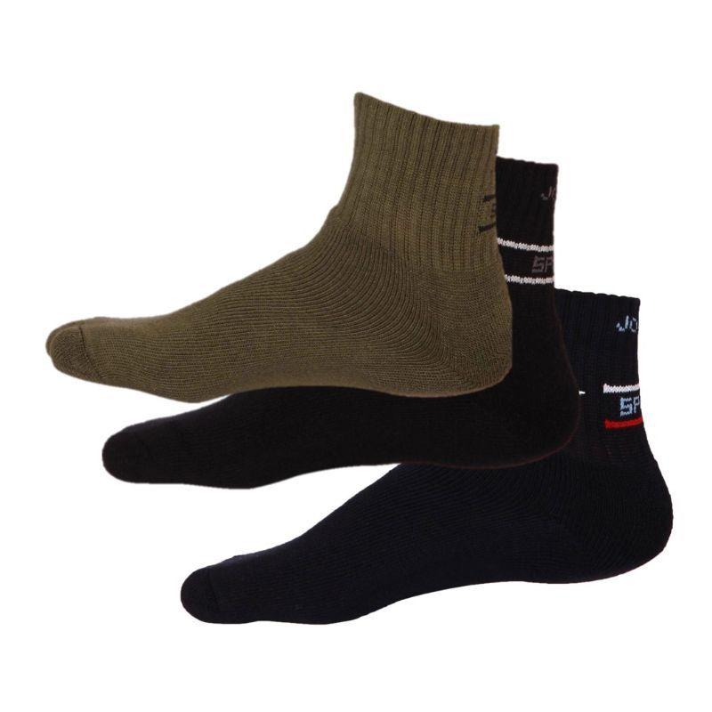 Jockey Man Multi Colour Men Ankle Socks Pack of 3