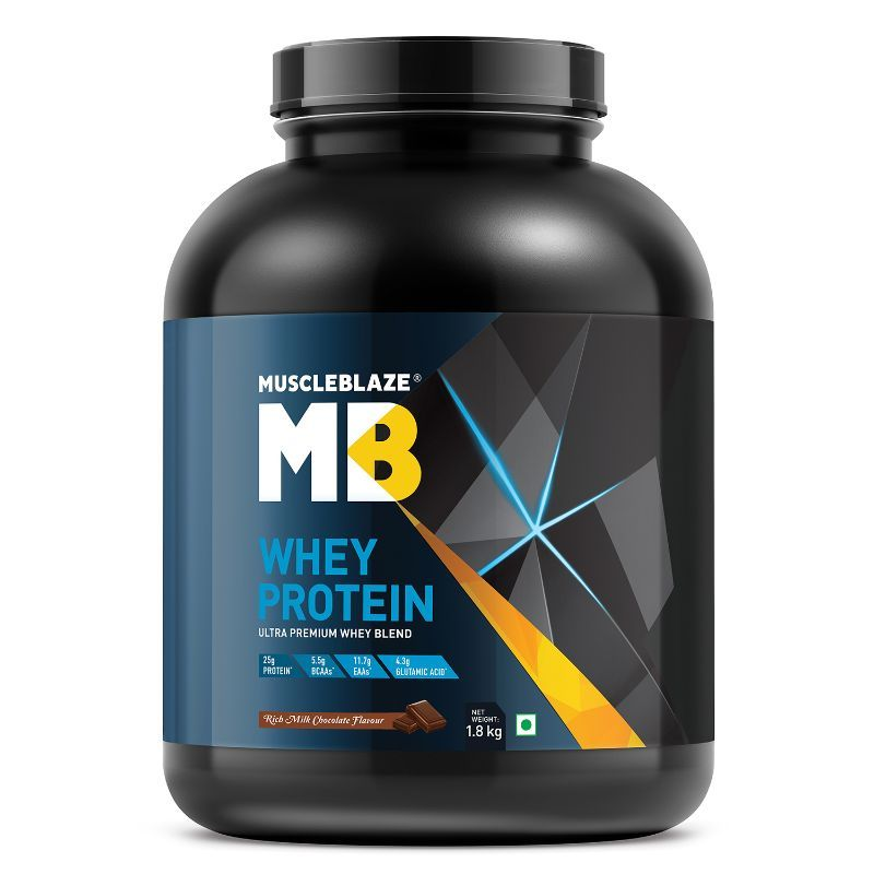 MuscleBlaze Whey Protein - Rich Milk Chocolate