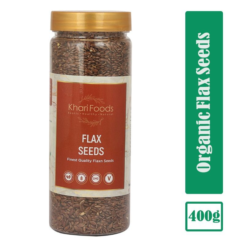 Khari Foods Organic Flax Seeds