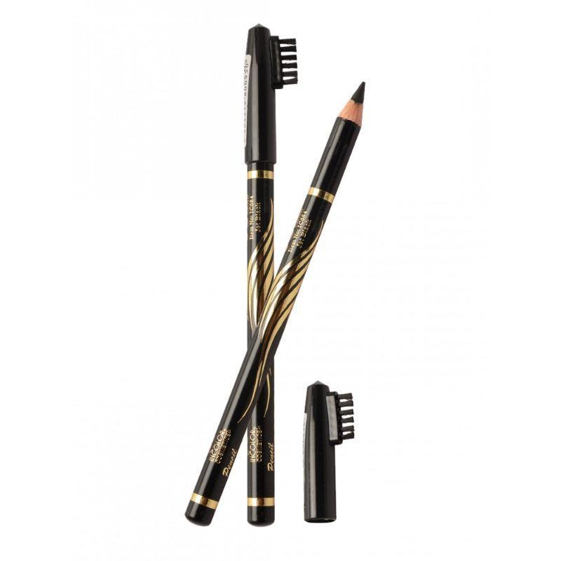 Incolor Eyebrow Pencil - Jet Black