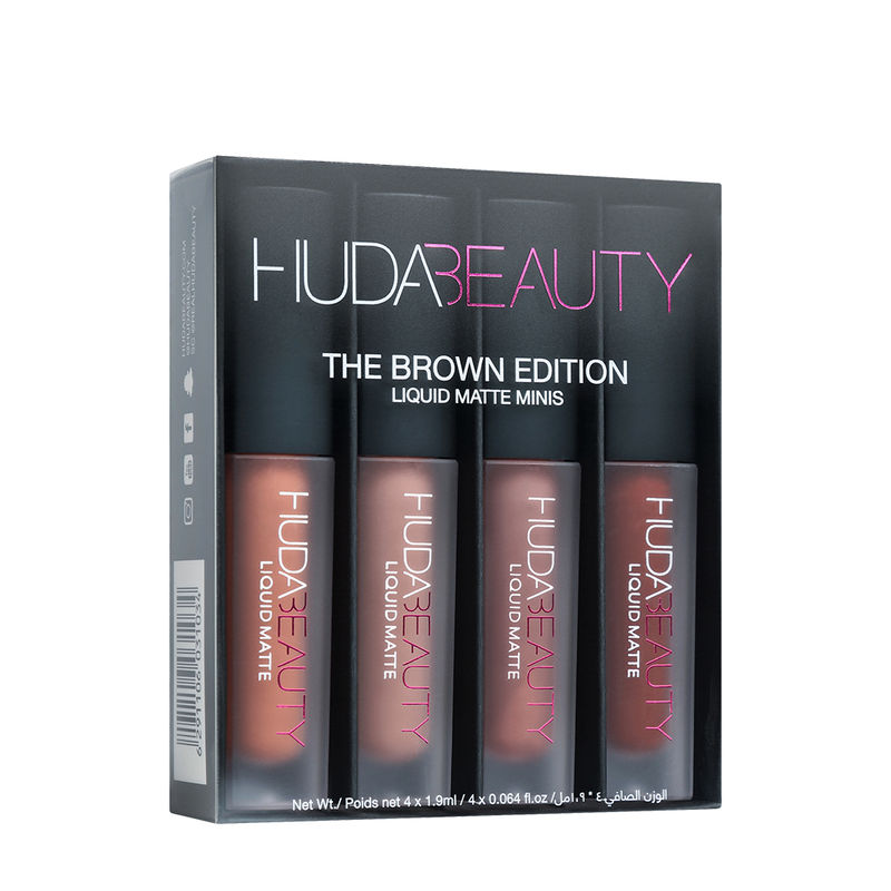 ceae8c4834 Huda Beauty Liquid Matte Minis - The Brown Edition at Nykaa.com