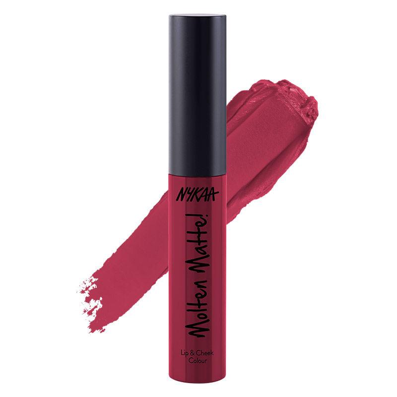 Nykaa Molten Matte Lip & Cheek Colour