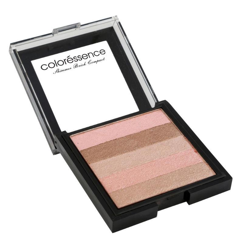 Coloressence Shimmer Brick Compact Pink Quartz 2