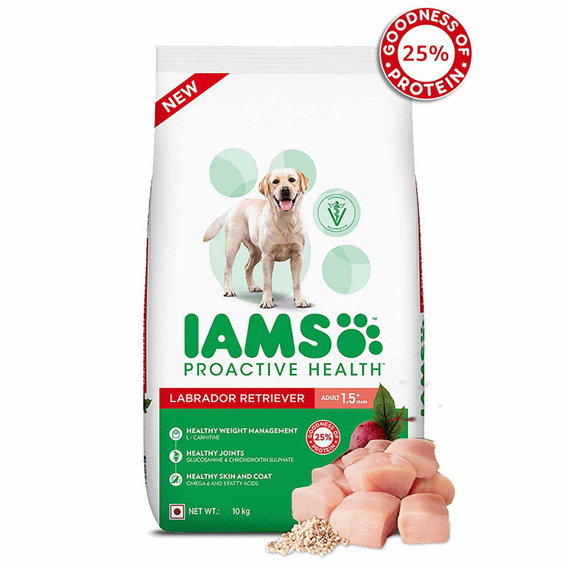 IAMS Proactive Health Adult Labrador Retriever Dogs (1.5+ Years) Super Premium Dog Food Pack