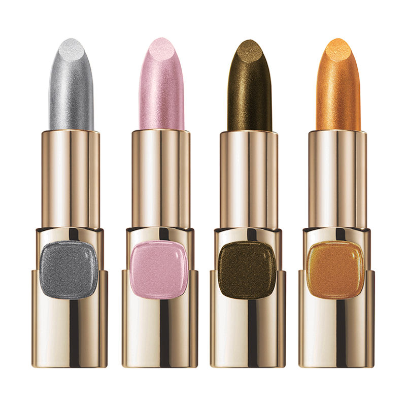 c491da416b2 L'Oreal Paris Color Riche Metallic Addiction Lipstick - Pure Gold 629 at  Nykaa.com