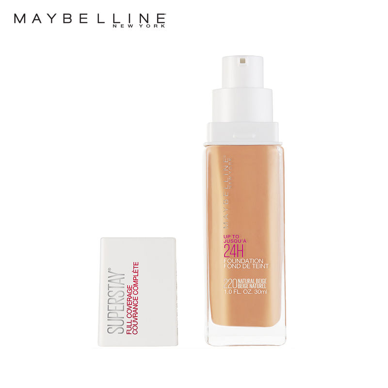 Maybelline New York Super Stay Full Coverage Foundation At Nykaacom