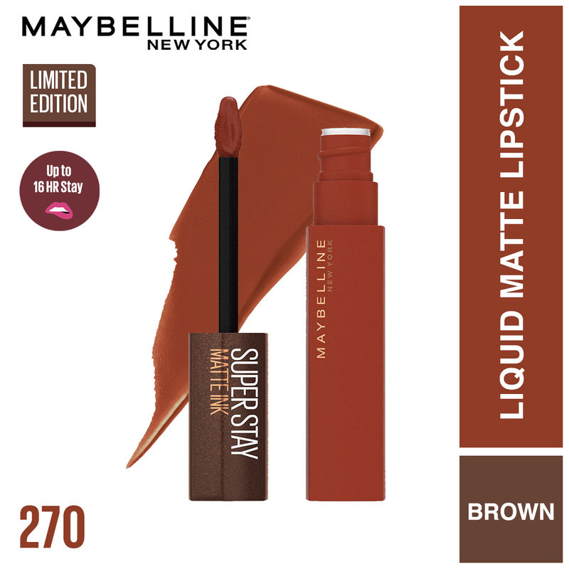Maybelline New York Superstay Matte Ink Coffee Collection - Cocoa Connoisseur