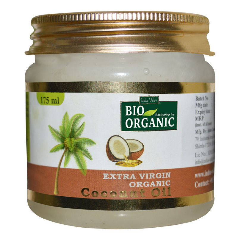 Indus Valley Bio Organic 100% Pure Extra Virgin Coconut Oil