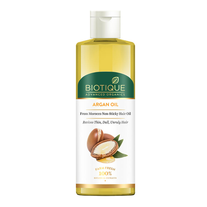 Biotique Advanced Organics Argan Oil From Morocco Non-sticky Hair Oil