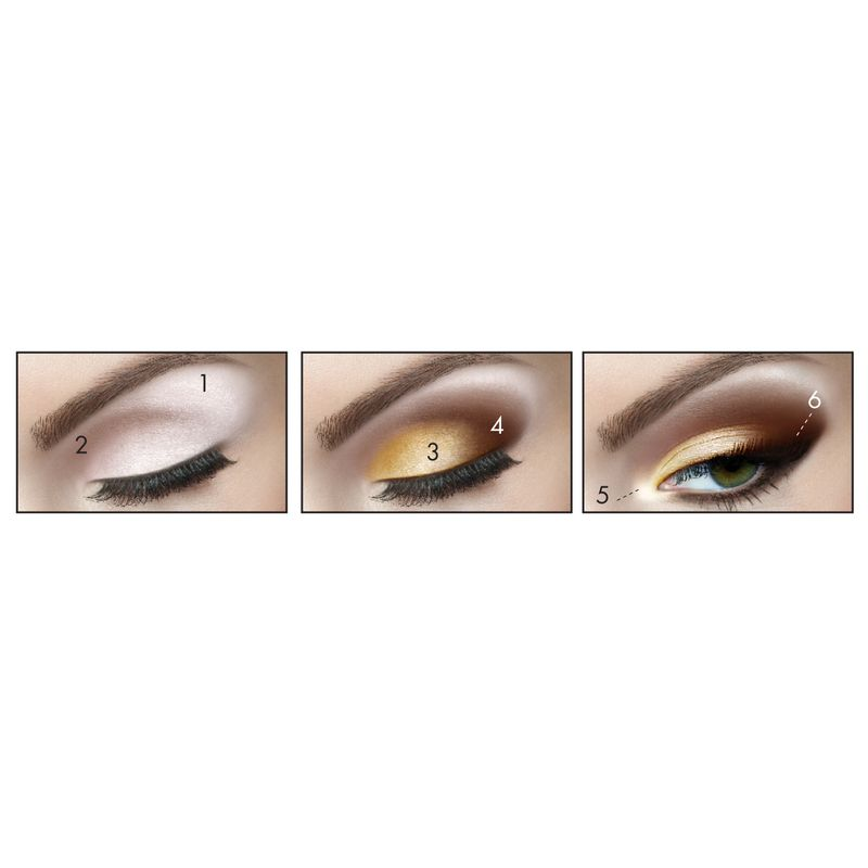 Milani Everyday Eyes Powder Eyeshadow Collection - 02 Bare Necessities