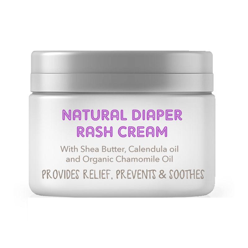 Natural Baby Diaper Rash Cream -Zinc Oxide, Organic Chamomile & Jojoba Oils, Oat Protein(25gm)