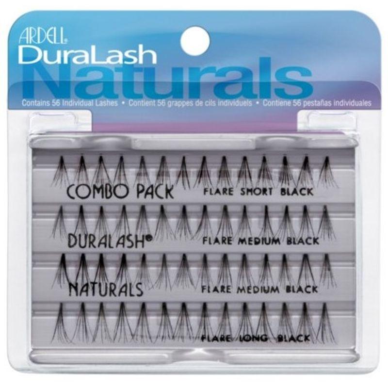 0ff858a85d3 Ardell Duralash Naturals Combo Black(56 Individual Lashes)