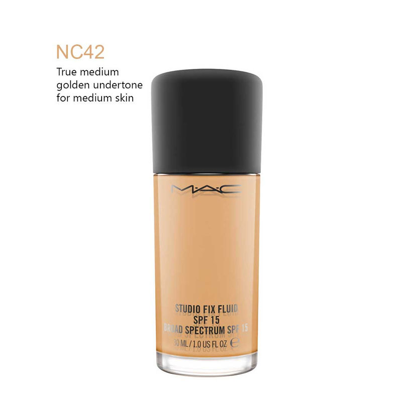 M A C Studio Fix Fluid SPF 15 - NC42