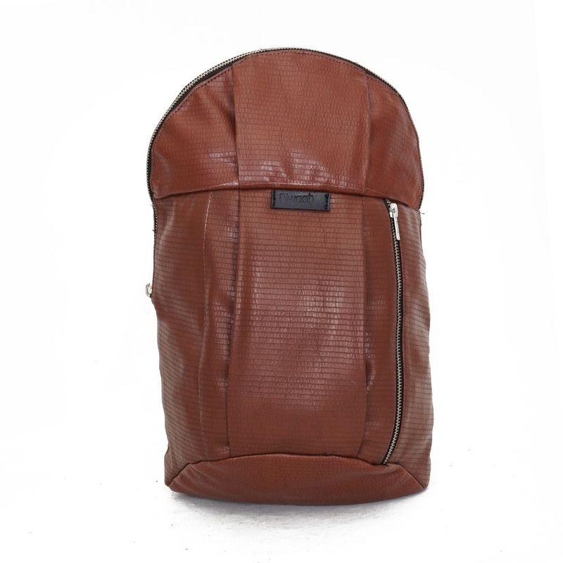 Diwaah Brown Casual Backpacks