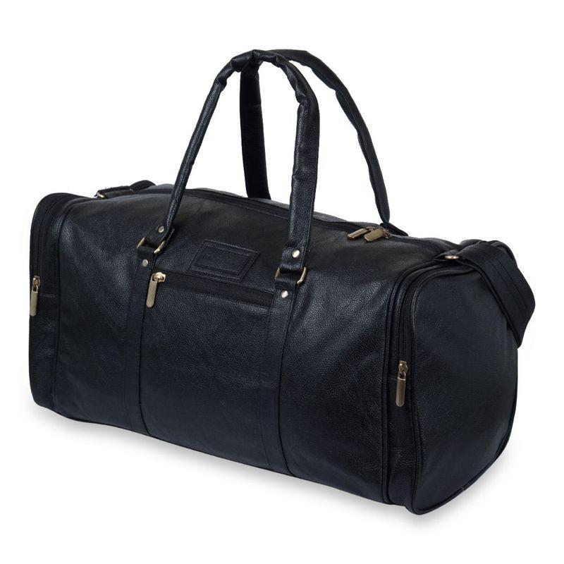 NFI Essentials Leatherette Cabin Size Travel Duffle Bag Size: 20 Inch  31 Litre  Luggage Duffel Bag