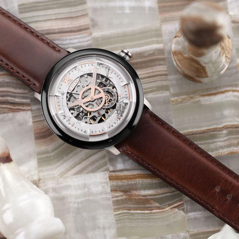 Titan 1848KL01White Dial Analog Watch For Men