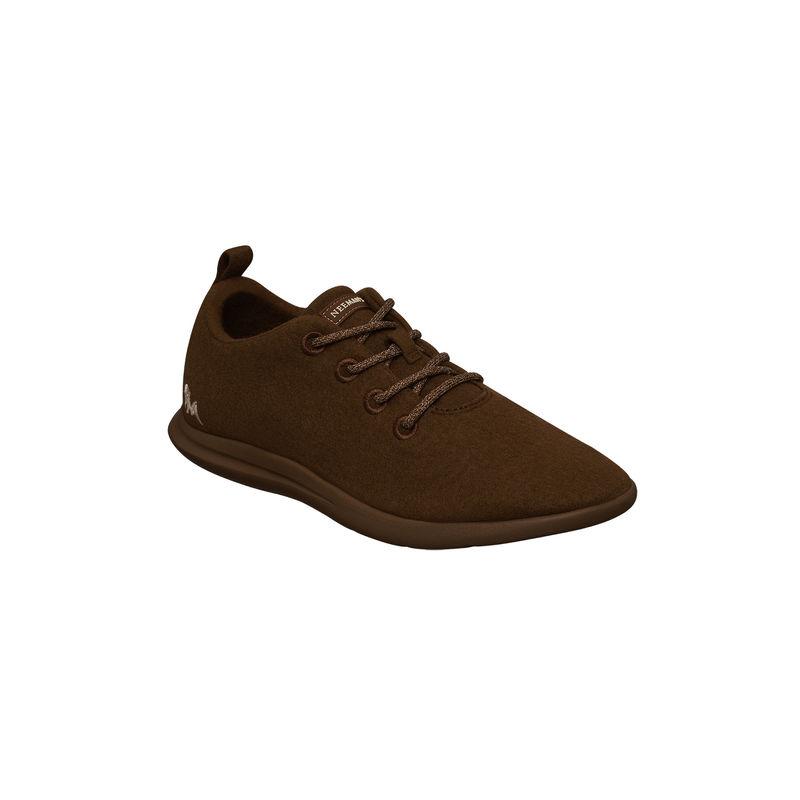 Neemans Unisex Wool Joggers - Brown - UK 5