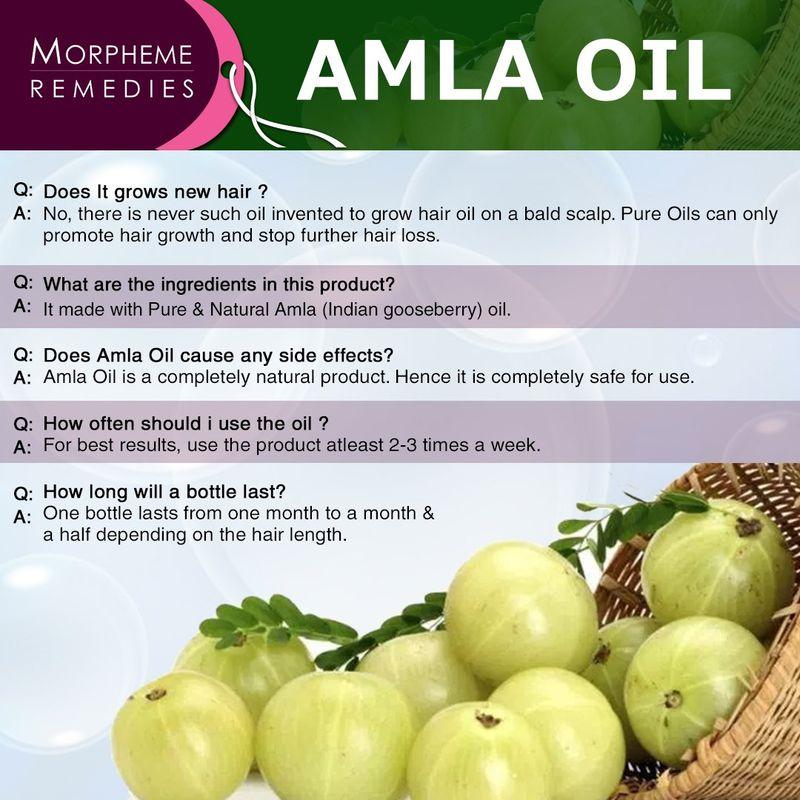 816788ff4bccb Morpheme Remedies Pure Coldpressed Amla Hair Oil at Nykaa.com