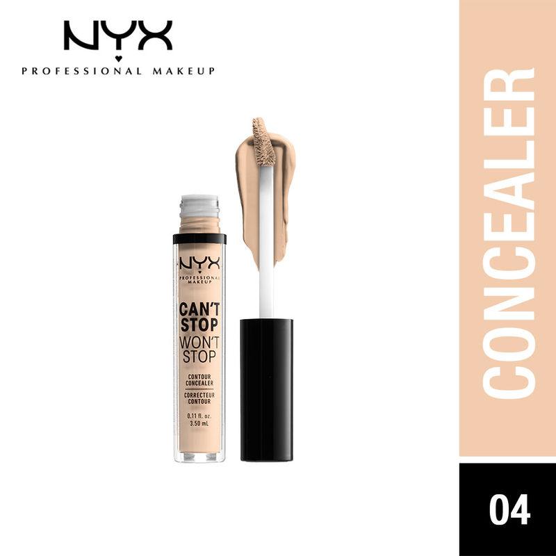 NYX Professional Makeup Can't Stop Won't Stop Contour Concealer - Light Ivory