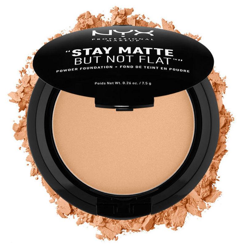 NYX Professional Makeup Stay Matte But Not Flat Powder Foundation - 09 Tan