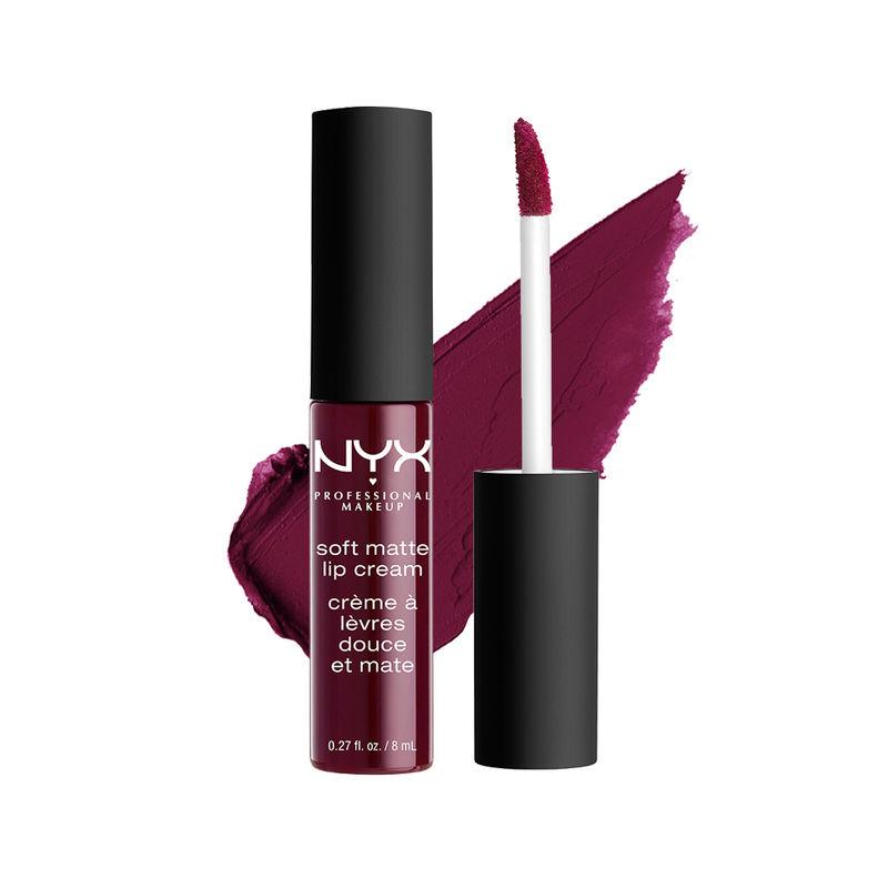 Nyx Professional Makeup Soft Matte Lip Cream Copenhagen At Nykaacom