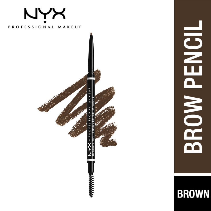 NYX Professional Makeup Micro Brow Pencil - Brunette