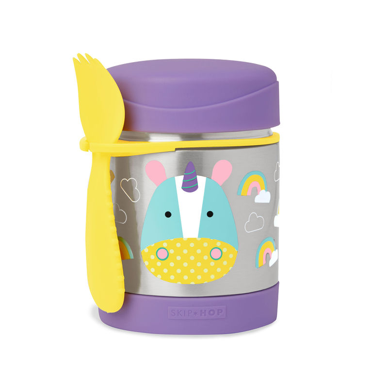 Skip Hop Purple Zoo Food Jar Unicorn