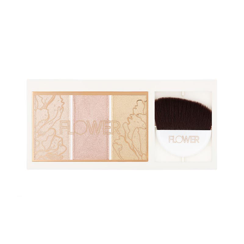 Flower Beauty Shimmer & Strobe Highlighting Palette - Champagne Shimmer