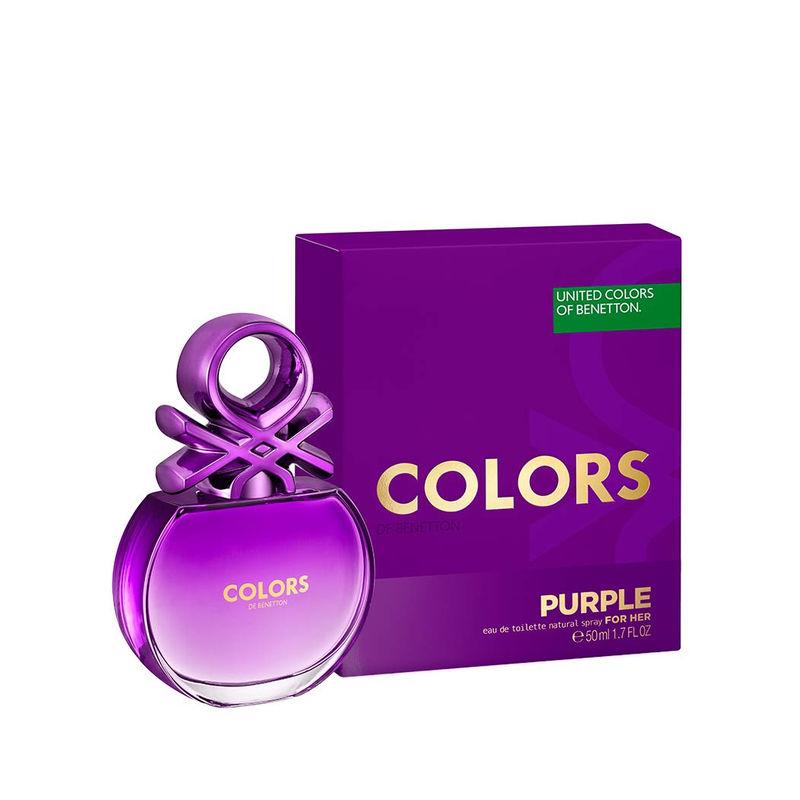 Buy United Colors Of Benetton Colors De Benetton Purple Eau De