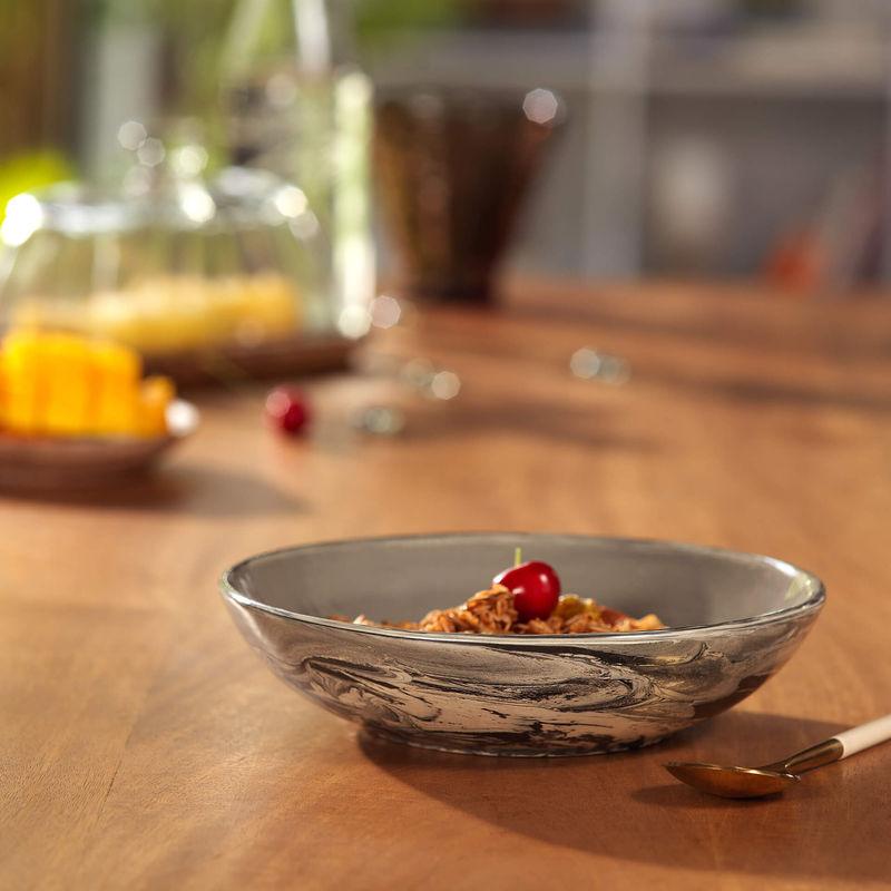 Ellementry Carbon Ceramic Pasta Bowl