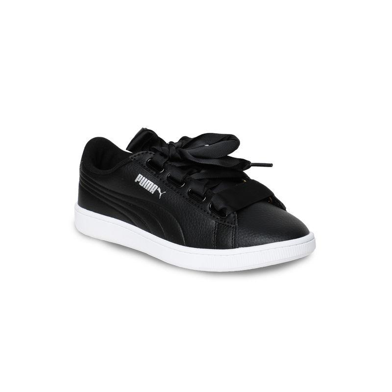 Puma Vikky V2 Ribbon Core Women Casual Shoes   Black
