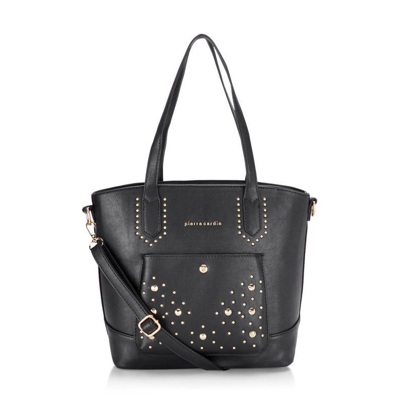 Pierre Cardin Bags Black Solid Tote Bag