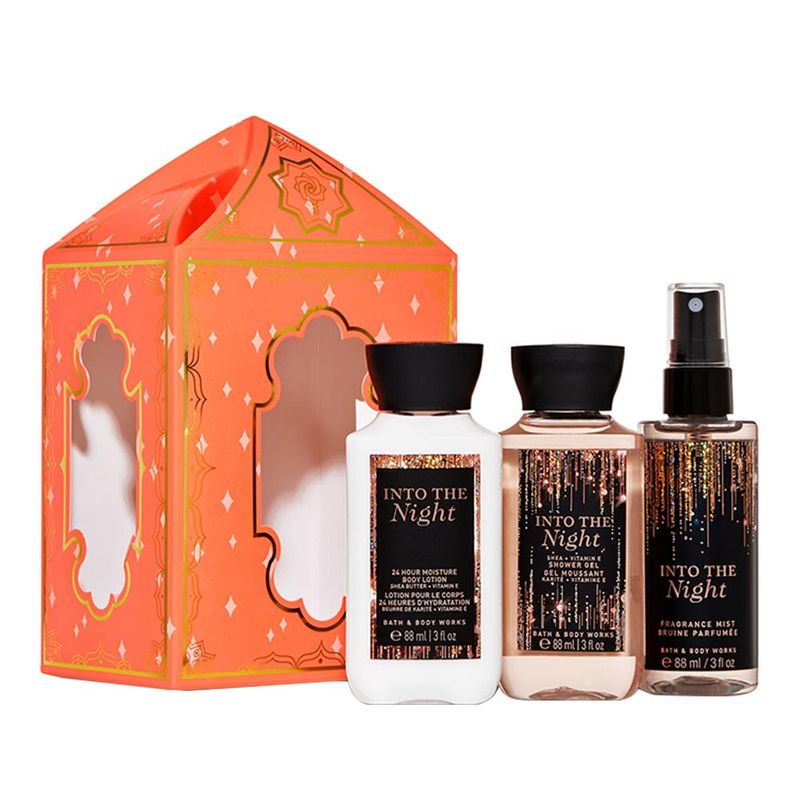 Bath & Body Works Into The Night Lantern Mini Gift Set