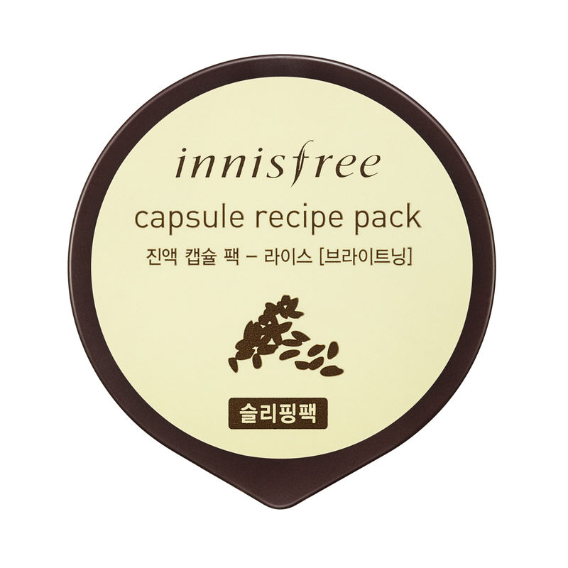 Buy Innisfree Capsule Recipe Pack Rice At Nykaa Com