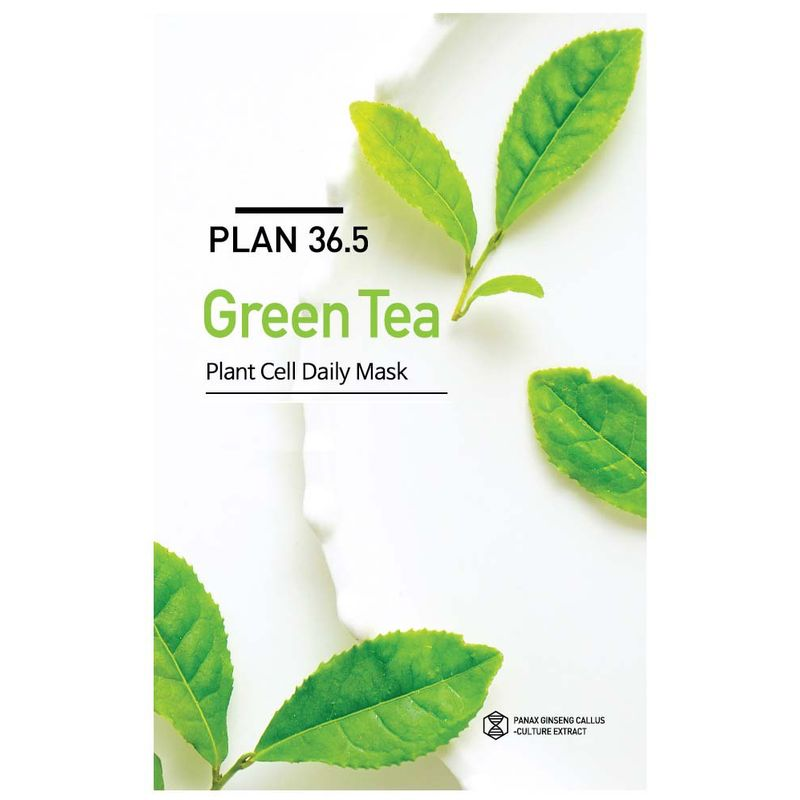 Plan 36 5 Plant Cell Daily Mask Green Tea(23ml)