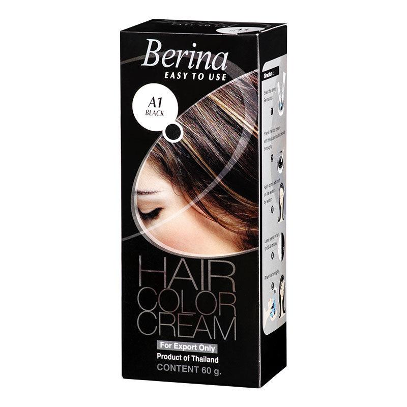 Berina Hair Color Cream - Black