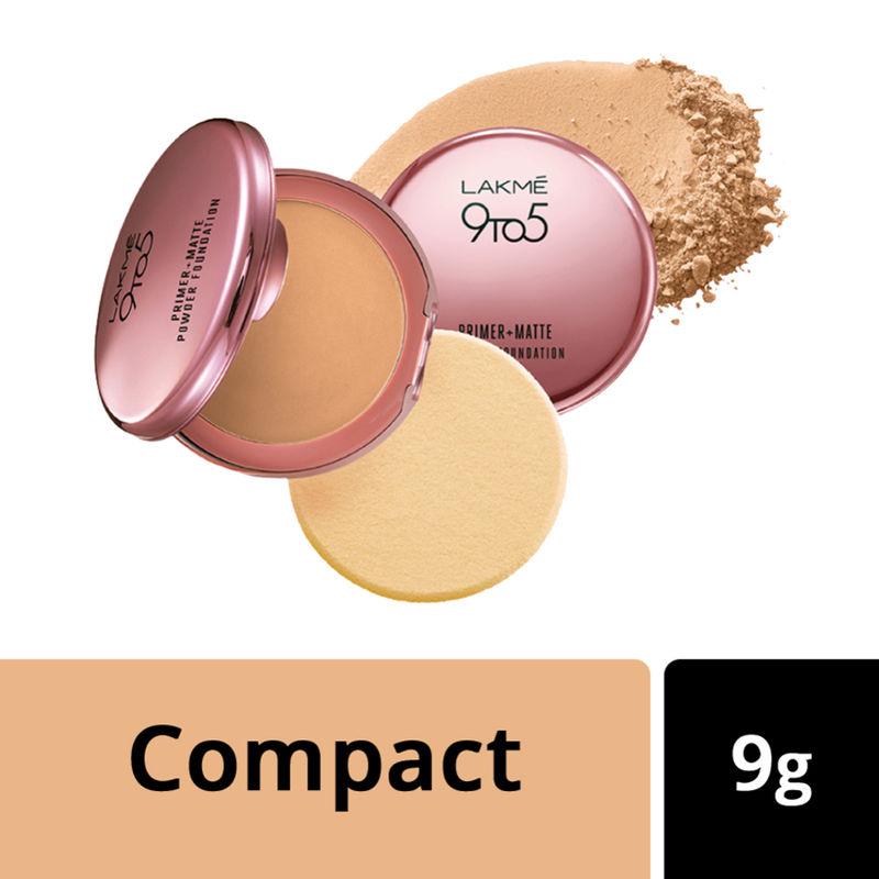 Lakme 9 to 5 Primer + Matte Powder Foundation Compact