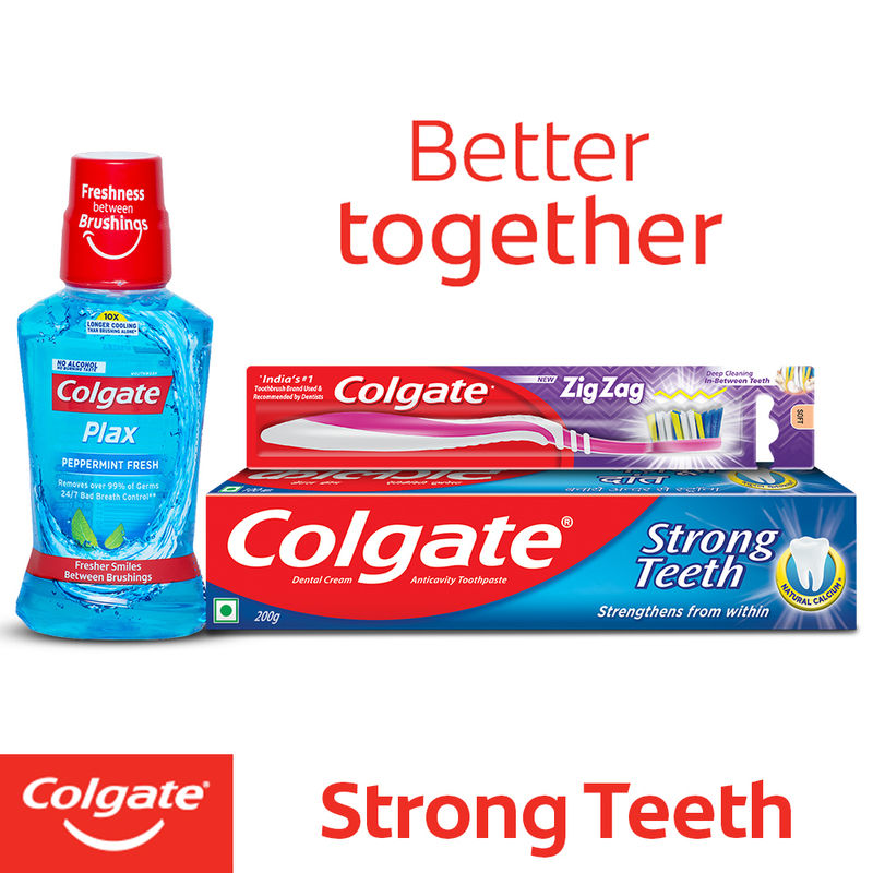 Colgate Dental Cream Anti-Cavity Toothpaste For Strong Teeth