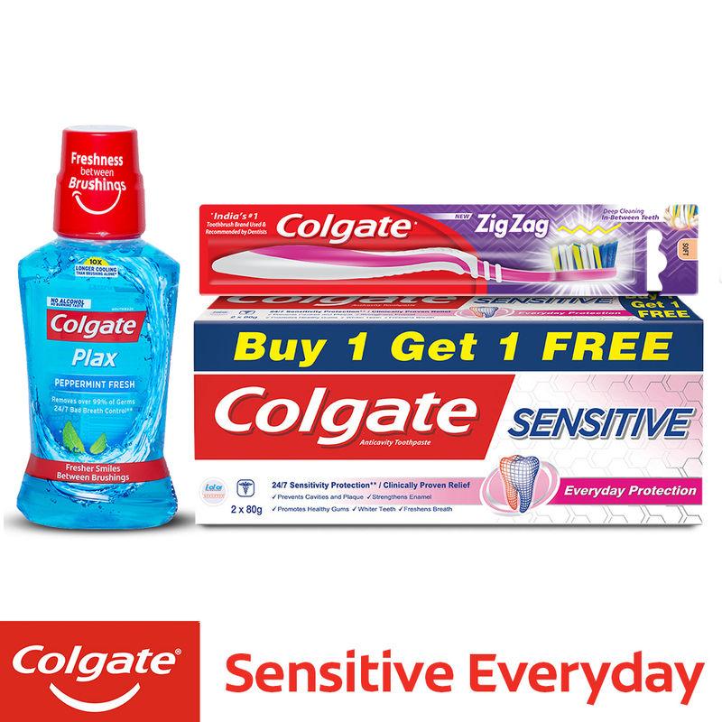 adab4733f Colgate Sensitive Original Toothpaste Buy 1 Get 1 Free at Nykaa.com