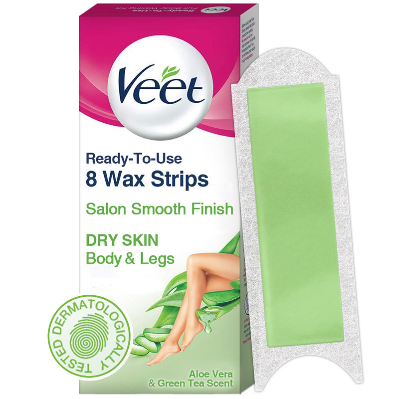 Veet Face Precision Waxing Kit With Almond Oil Cornflower Scent